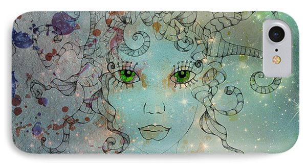 IPhone Case featuring the digital art Different Being by Barbara Orenya
