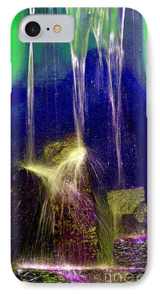 Diffusion Number Three IPhone Case by Skip Willits