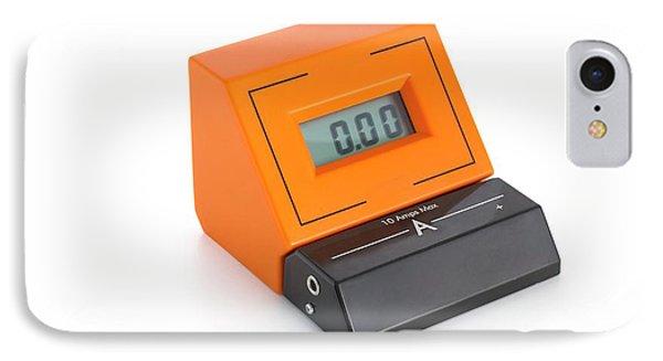 Digital Ammeter IPhone Case