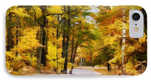 IPhone Case featuring the photograph Fall Colors by David Perry Lawrence