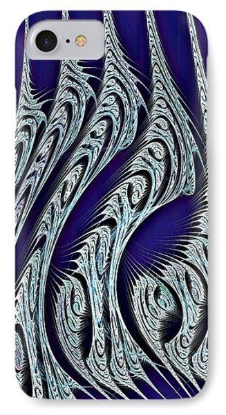 Digital Carvings Phone Case by Anastasiya Malakhova