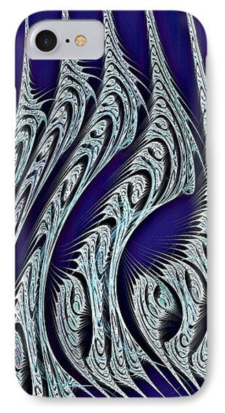 Digital Carvings IPhone Case by Anastasiya Malakhova