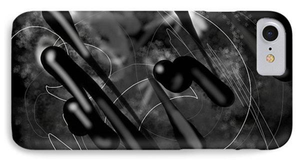 Digital Doodles 2 IPhone Case