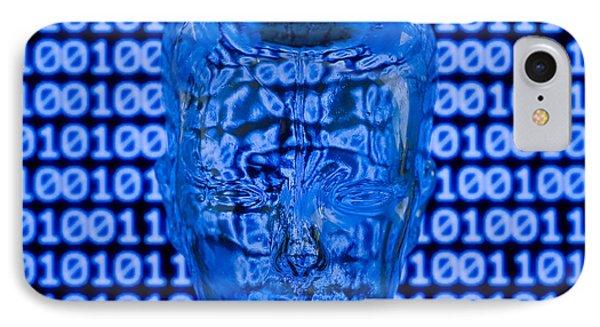 Digital Head Phone Case by Shawn Hempel