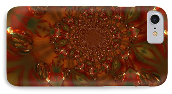 Digital Kaleidoscope  IPhone Case by Jeff Swan