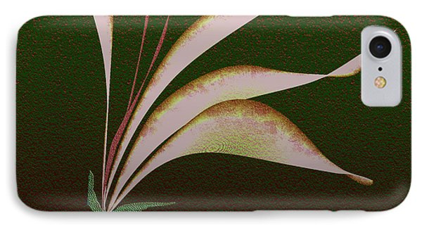 IPhone Case featuring the digital art Digital Lily by Asok Mukhopadhyay