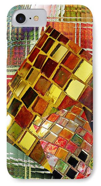 Digital Mosaic Phone Case by Sarah Loft
