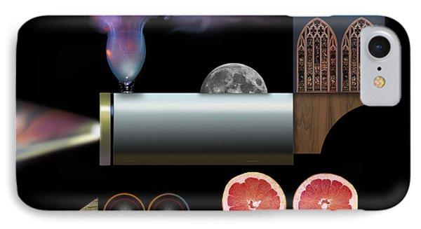Digital Train Collage IPhone Case by John Norman Stewart