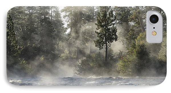 Dillon Falls IPhone Case by Christian Heeb