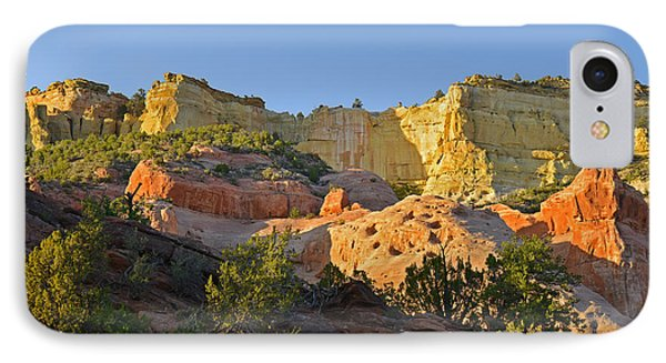 Dine' Tah ' Among The People ' Scenic Road Phone Case by Christine Till