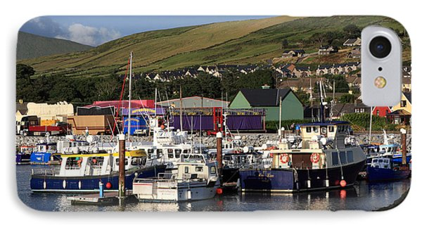 Dingle Harbour County Kerry Ireland IPhone Case by Aidan Moran