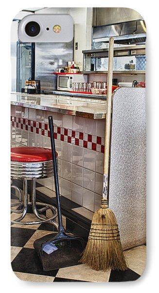 Dingy Diner Phone Case by Trever Miller