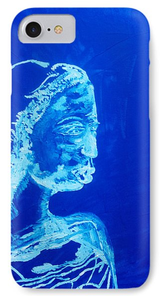 Dinka Painted Lady - South Sudan Phone Case by Gloria Ssali