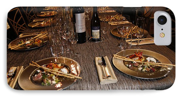 Dinner Is Served Phone Case by Nina Prommer