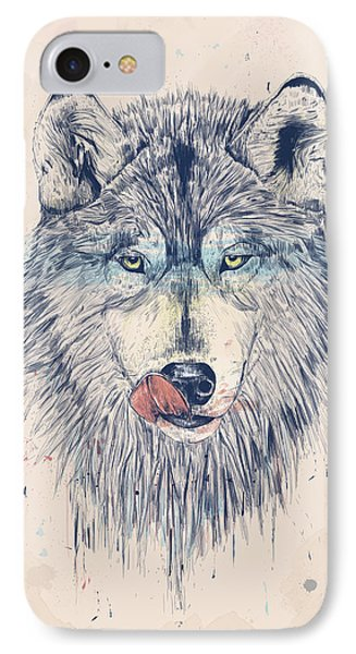 Dinner Time Phone Case by Balazs Solti