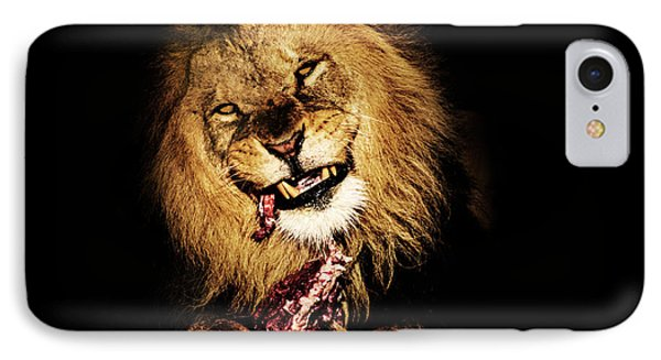Dinner Time IPhone Case by Martin Newman
