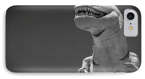 IPhone Case featuring the photograph Dino Of The Desert I by Carolina Liechtenstein