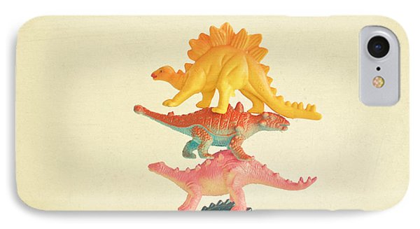Dinosaur Antics IPhone 7 Case by Cassia Beck
