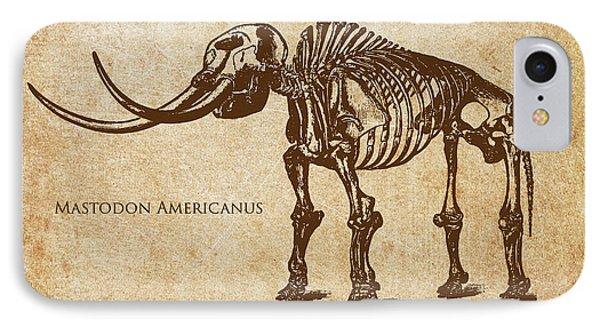 Dinosaur Mastodon Americanus IPhone Case