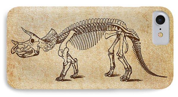 Dinosaur Triceratops Prorsus IPhone Case