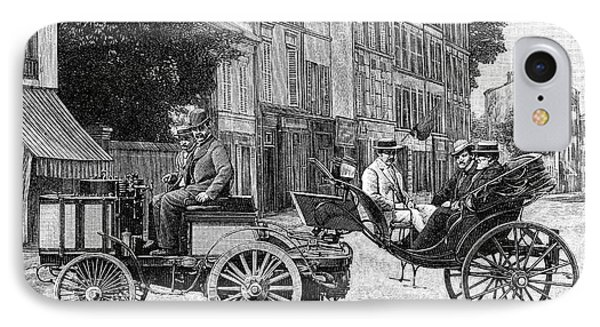 Dion Steam Carriage IPhone Case