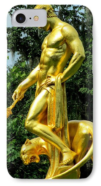 Dionysus Right IPhone Case by Randall Weidner