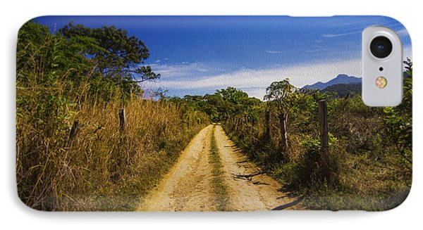 Dirt Road Phone Case by Aged Pixel