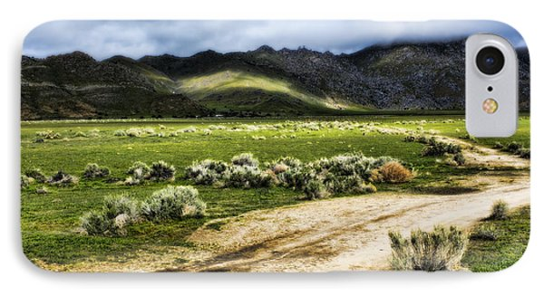 IPhone Case featuring the photograph Dirt Road Kern County by Hugh Smith