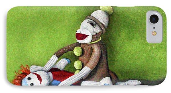Dirty Socks Phone Case by Leah Saulnier The Painting Maniac