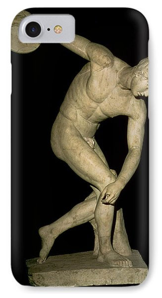 Discobolus  IPhone Case by Myron