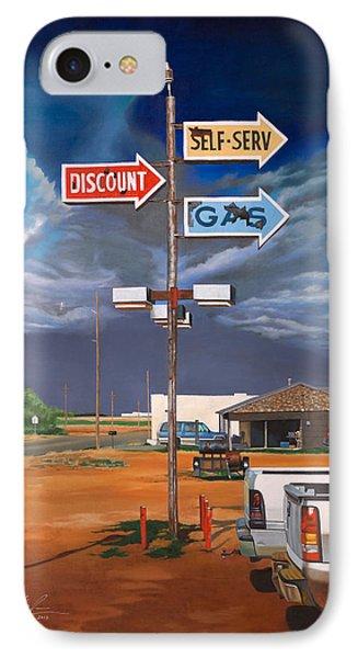 Discount Self-serv Gas IPhone Case