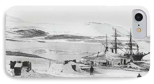 Discovery Antarctic Expedition IPhone Case by Scott Polar Research Institute