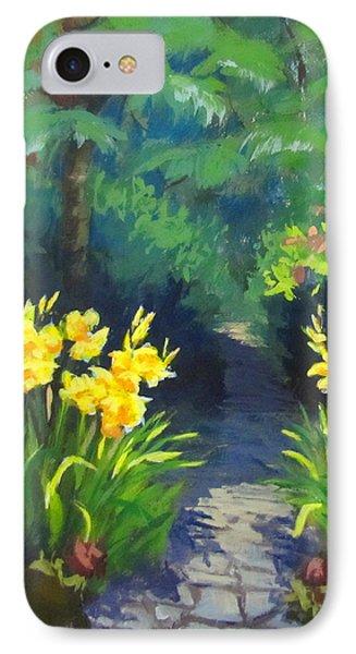 Discovery Garden IPhone Case by Karen Ilari