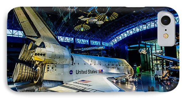 Discovery Side View IPhone Case by Randy Scherkenbach