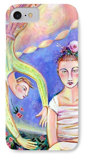 Disgruntled Ballerina  Phone Case by Marlene LAbbe