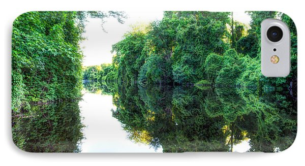 Dismal Swamp Canal IPhone Case by David Cote