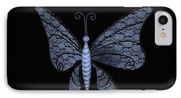 Disney Butterfly Cyan IPhone Case
