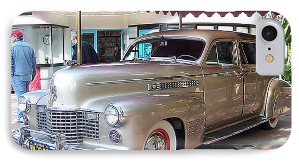 IPhone Case featuring the photograph Disney Cadillac by Tom Doud
