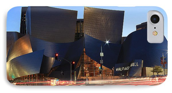 Disney Concert Hall IPhone Case by Kevin Ashley