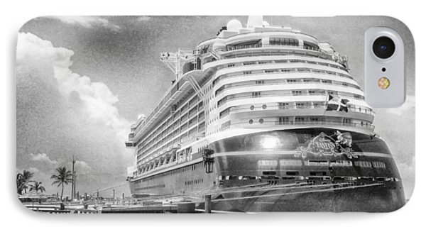 IPhone Case featuring the photograph Disney Fantasy by Howard Salmon