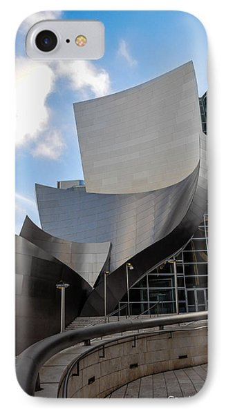 IPhone Case featuring the photograph Disney Hall by Gandz Photography