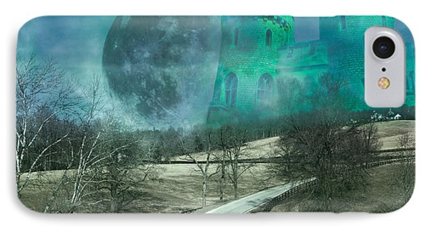 Distant Emerald IPhone Case by Betsy Knapp