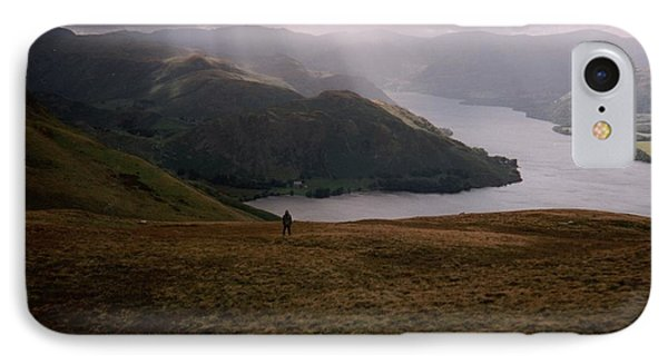 IPhone Case featuring the photograph Distant Hills Cumbria by John Williams