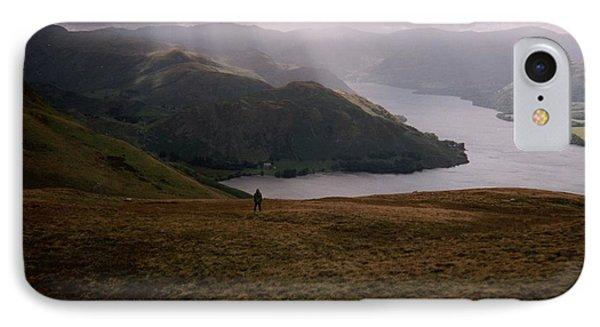Distant Hills Cumbria IPhone Case