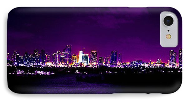 Distant Lights Phone Case by Michael Guirguis