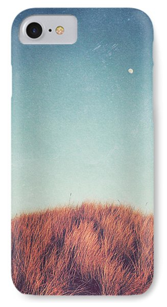 Landscapes iPhone 7 Case - Distant Moon by Lupen  Grainne