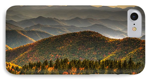 Distant Ridges IPhone Case