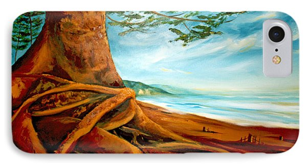 IPhone Case featuring the painting Distant Shores Rejoice by Meaghan Troup