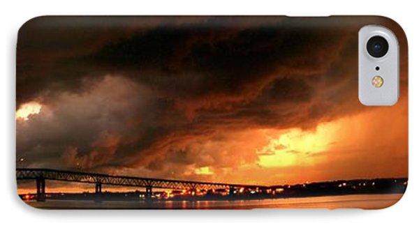 Distant Storm IPhone Case by Patricia L Davidson