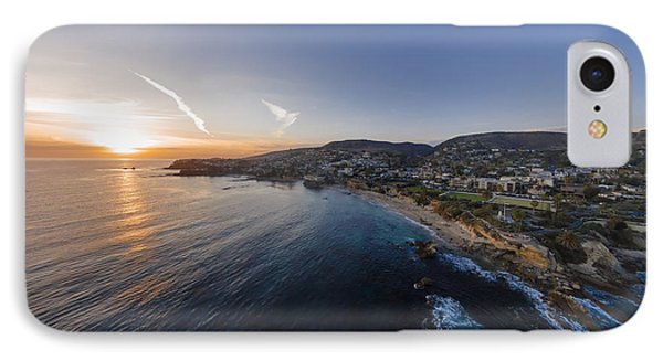 Divers Cove Laguna Beach Aerial IPhone Case by Scott Campbell